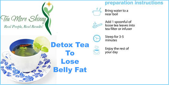 Detox Tea helps in losing weight naturally